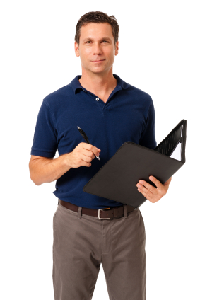 Picture of a sales representative
